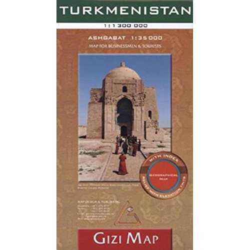 TURKMENISTAN  1/1M3 (GEOGRAPHICAL)