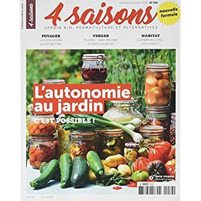 REVUE 4 SAISONS N.232 SEPTEMBRE-OCTOBRE 2018