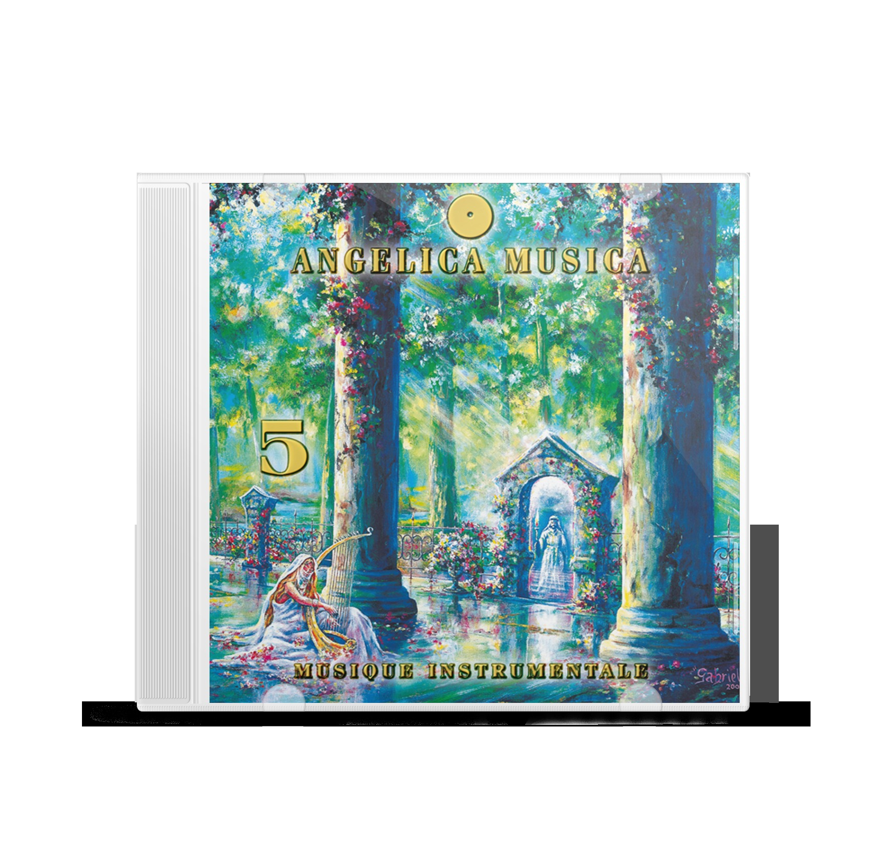 ANGELICA MUSICA CD VOL 5 - ANGES 48 A 43