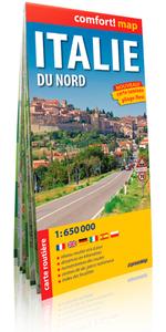 ITALIE DU NORD  1/650.000 (COMFORT !MAP)