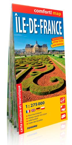 ILE DE FRANCE  1/275.000 (COMFORT !MAP)