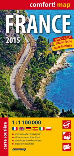 AED FRANCE 2015  1/1M1 (COMFORT !MAP)