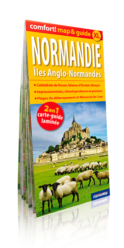 NORMANDIE ILES ANGLO NORMANDES (COMFORT !MAP&GUIDE XL)