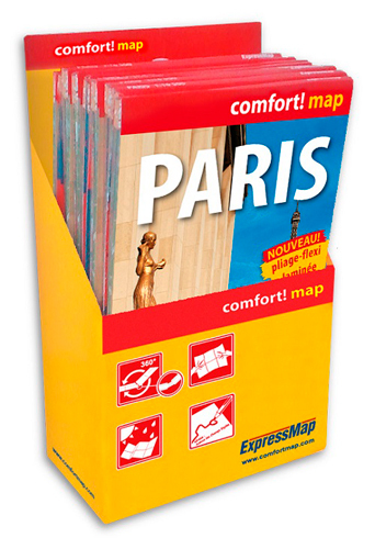PACK PLAN PARIS (POCHE) (12+1)