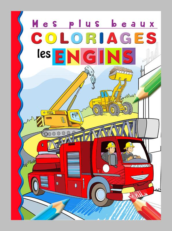 A COLORIER LES ENGINS