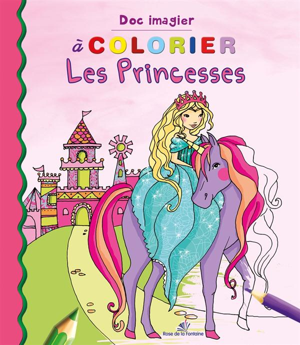 A COLORIER LES PRINCESSES