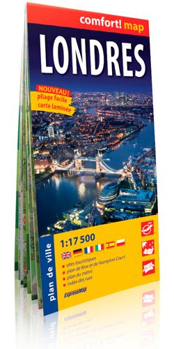 LONDRES  1/17.500 (COMFORT !MAP)