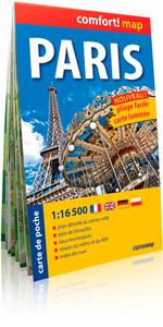 PARIS 1/16 500  (COMFORT !MAP, POCHE)