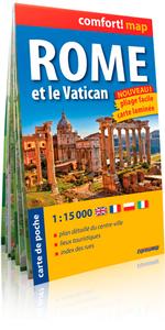 ROME ET LE VATICAN 1/15.000 (COMFORT !MAP, POCHE)