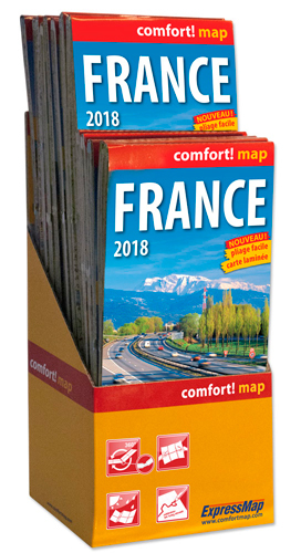 PACK 12+1 FRANCE 2018 1/1M1 (COMFORT !MAP, LAMINEE)