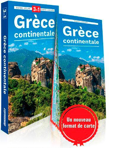 GRECE CONTINENTALE (GUIDE 3EN1)