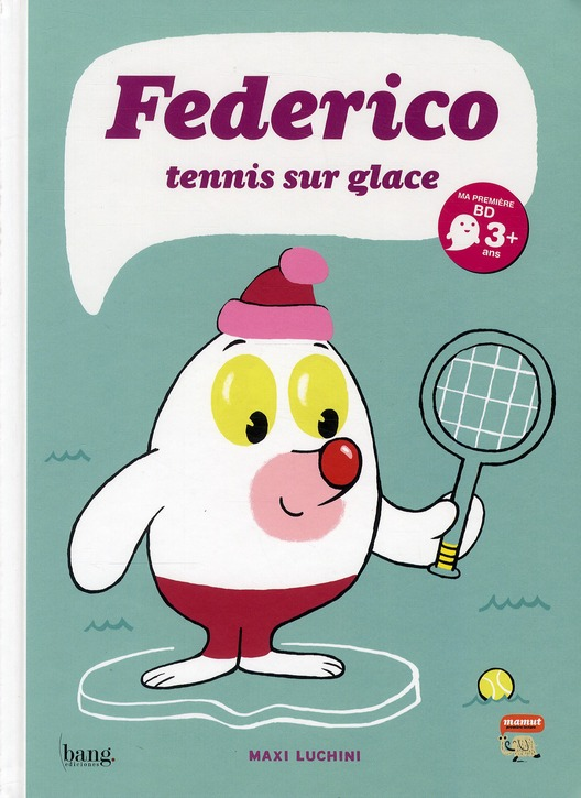 FEDERICO - TOME 1 TENNIS SUR GLACE