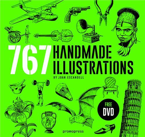 767 HANDMADE ILLUSTRATIONS