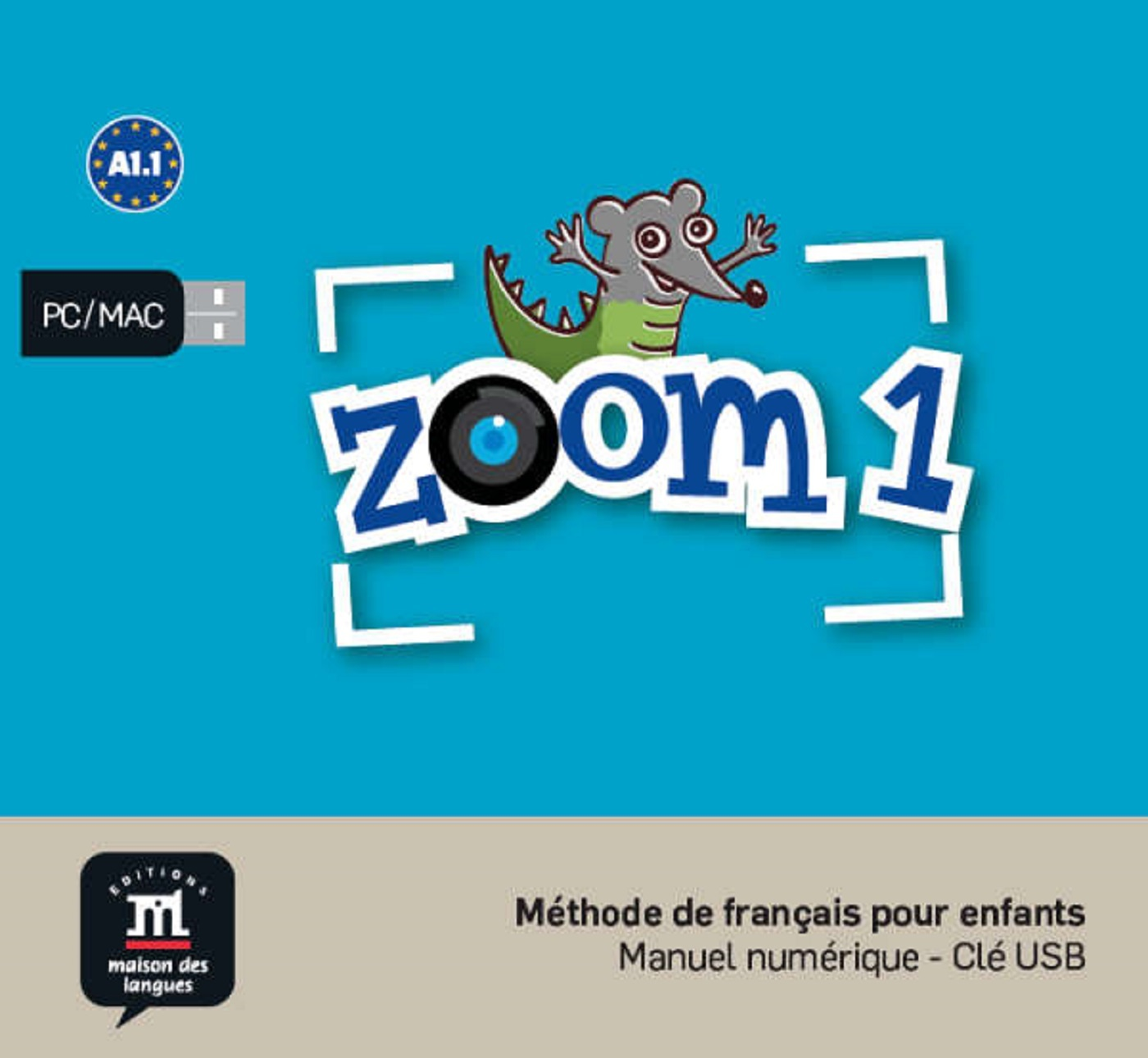 ZOOM 1 - CLE USB NED
