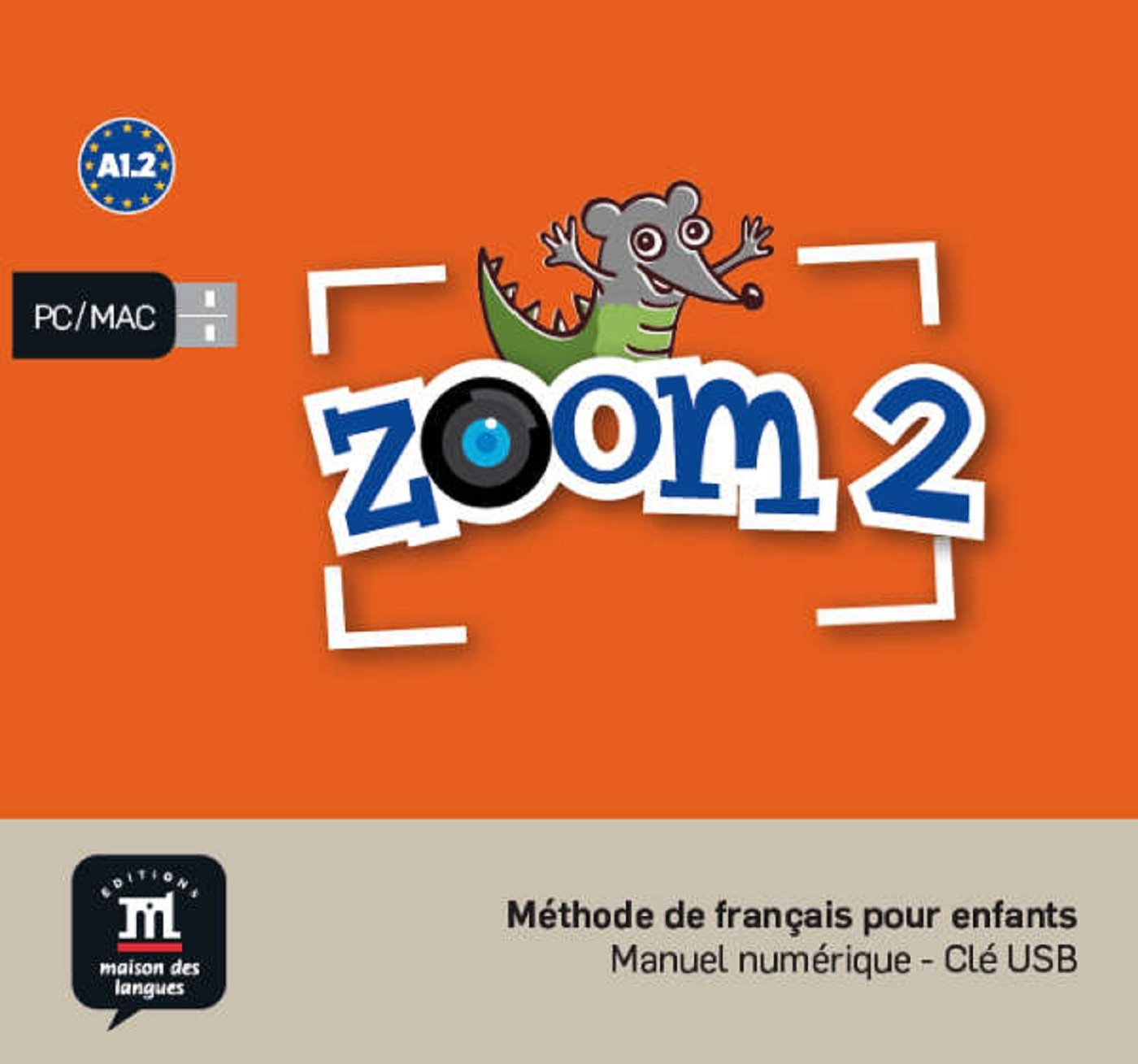 ZOOM 2 - CLE USB NED