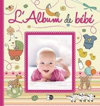 ALBUM DE BEBE (COUVERTURE ROSE)