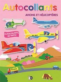 AUTOCOLLANTS AVIONS ET HELICOPTERES