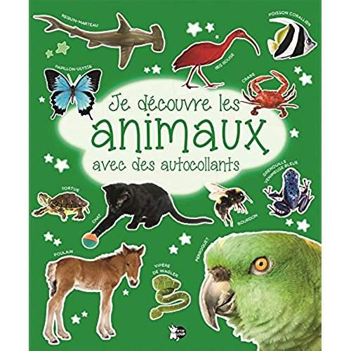 JE DECOUVRE LES ANIMAUX AVEC DES AUTOCOLLANTS