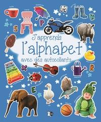 J'APPRENDS L'ALPHABET AVEC DES AUTOCOLLANTS