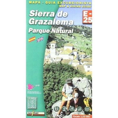 AED E-25 SIERRA DE GRAZALEMA - 1/25.000