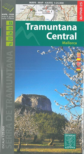 AED MALLORCA-TRAMUNTANA CENTRAL - 1/25.000