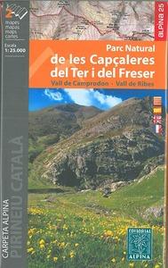 P.N. DE LES CAPCALERES DEL TER I DEL FRESER  1/25.000 (2 CARTES)