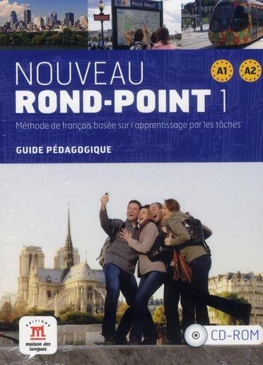 NOUVEAU ROND-POINT 1 A1-A2 CD-ROM GUIDE PEDAGOGIQUE