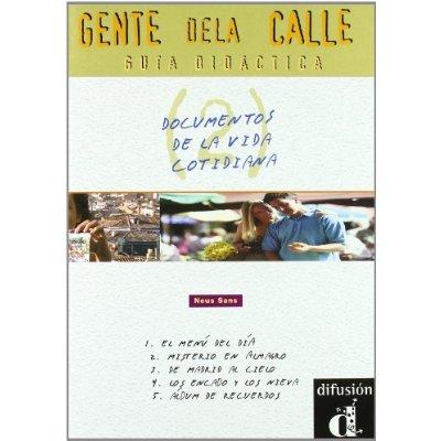 GENTE DE LA CALLE 2 GUIA DIDACTICA