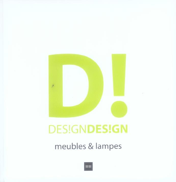 DESIGN DESIGN MEUBLES ET LAMPES