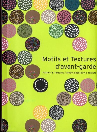 MOTIFS ET TEXTURES D'AVANT GARDE AVEC CD
