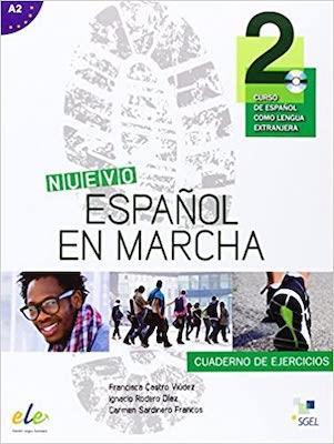 NUEVO ESPANOL MARCHA 2 EJER+CD A2