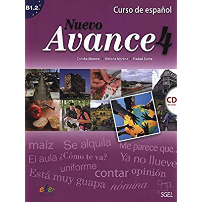 NUEVO AVANCE 4 ALUMNO+CD