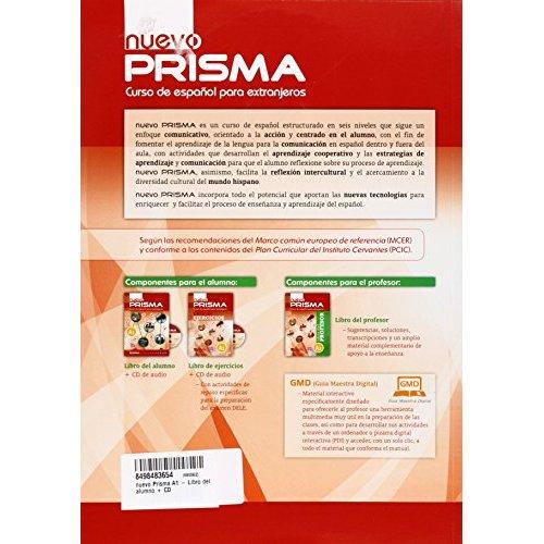 NUEVO PRISMA A1 LIBRO DEL ALUMNO CON CD