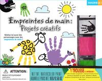 EMPREINTES DE MAIN  PROJETS CREATIFS