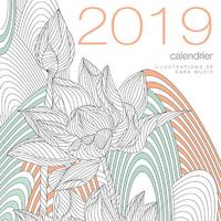 CALENDRIER MURAL 2019 JARDINS ZEN