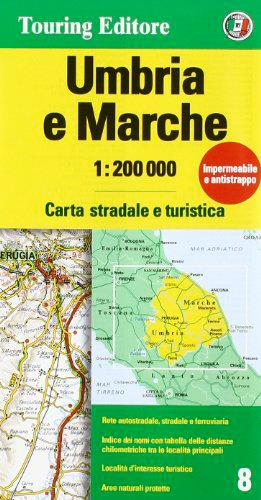 AED OMBRIE / MARCHES  1/200.000 (IT)