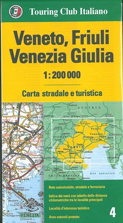 VENETO / FRIULI VENISE / GIULA  1/200.000 (IT)