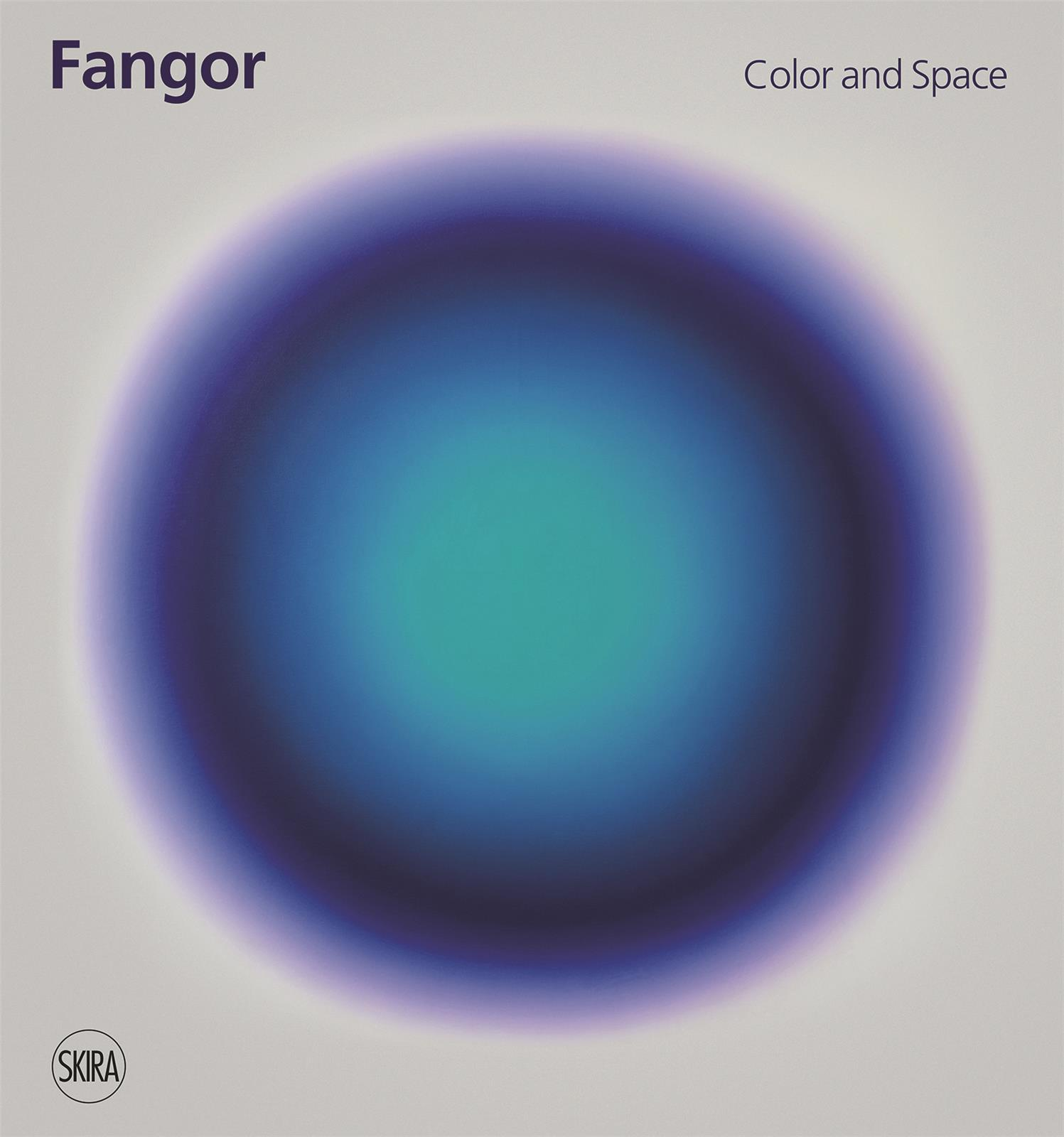 WOJCIECH FANGOR COLOR AND SPACE /ANGLAIS
