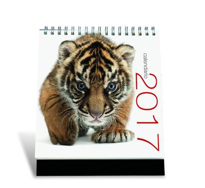 CALENDRIER DE TABLE FELINS 2017