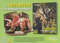LE TRICERATOPS ET LES DINOSAURES CUIRASSES - LIVRE + PUZZLE 3D