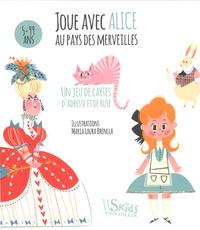 JOUE AVEC ALICE AU PAYS DES MERVEILLES - JEU DE CARTES