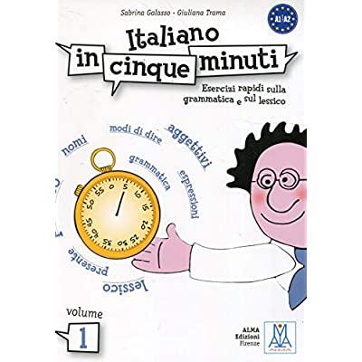ITALIANO IN CINQUE MINUTI 1 (LIBRO)