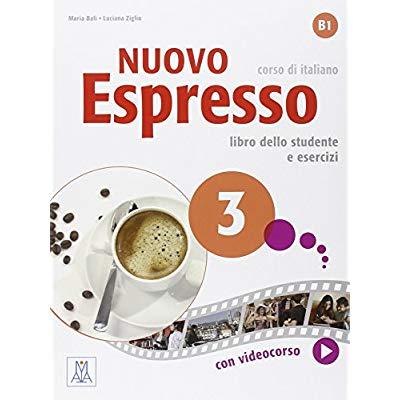 NUOVO  ESPRESSO 3 - B1 (LIBRO + DVD MULTIMEDIALE)
