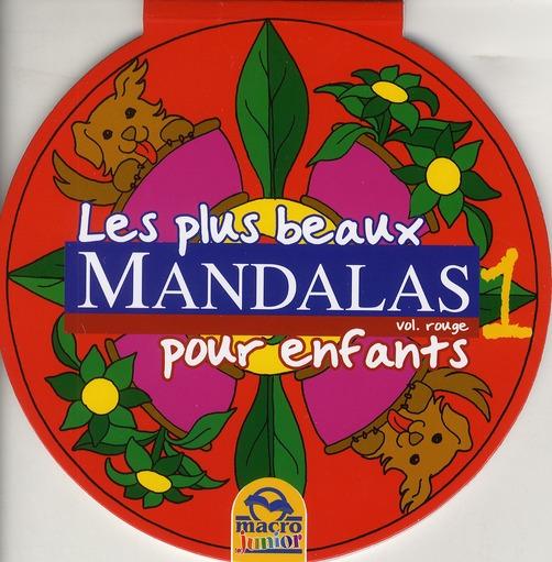 PLUS BEAUX MANDALAS ROUGE 1