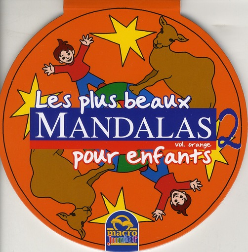 PLUS BEAUX MANDALAS ORANGE 2