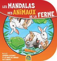 LES MANDALAS DES ANIMAUX DE LA FERME
