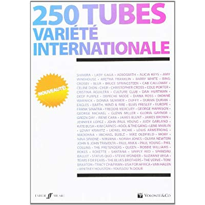 250 TUBES VARIETE INTERNATIONALE PIANO
