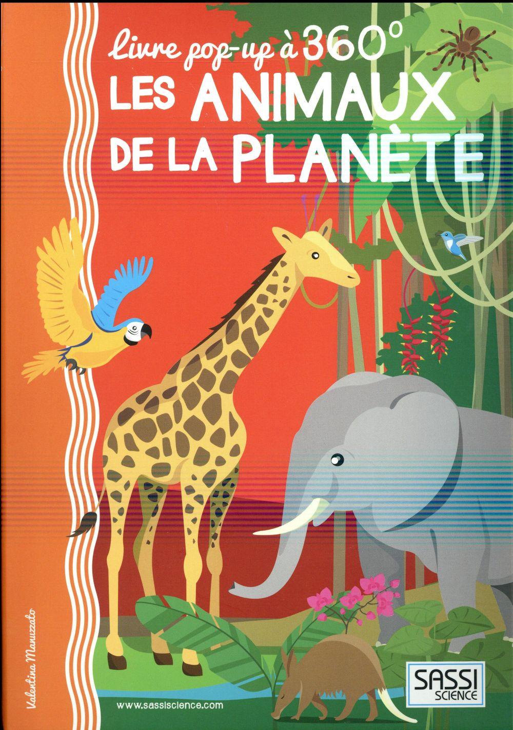 POP-UP 360  - LES ANINAUX DE LA PLANETE
