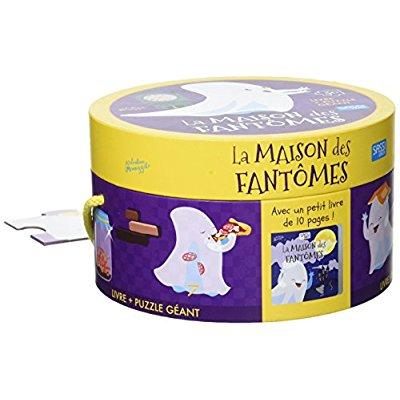 LA MAISON DES FANTOMES - 1 PUZZLE GEANT + 1 LIVRE