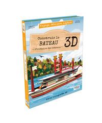VOYAGE, DECOUVRE, EXPLORE - CONSTRUIS LE BATEAU 3D - L'HISTOIRE DES BATEAUX